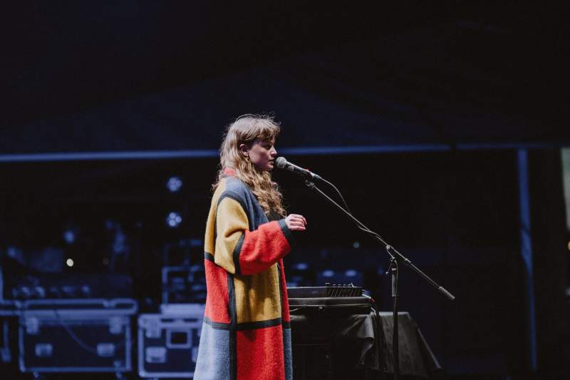 Me Lost Me performs at Virgin Money Unity Arena, image by Amelia Read